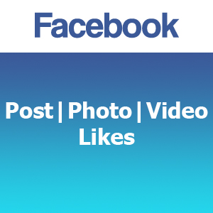 Facebook Post | Photo | Video Likes
