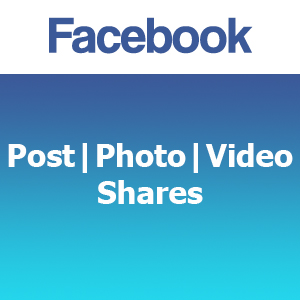 Facebook Post | Photo | Video Shares