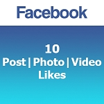 10 Facebook Post | Photo | Video Likes