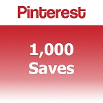 1000 Pinterest Saves