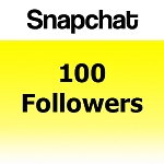 100 Snapchat Followers