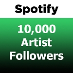 10000 Spotify Artist Followers