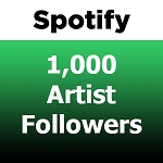 1000 Spotify Artist Followers