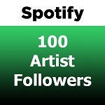 100 Spotify Artist Followers