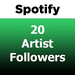 20 Spotify Artist Followers