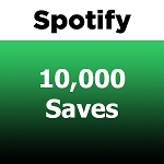 10000 Spotify Saves