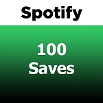 100 Spotify Saves