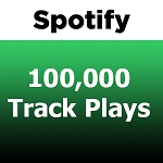 100000 Spotify Track Plays