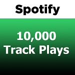10000 Spotify Track Plays
