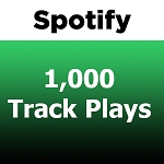1000 Spotify Track Plays