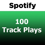 100 Spotify Track Plays