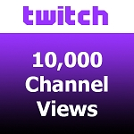 10000 Twitch Channel Views