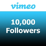 10000 Vimeo Followers