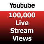 100000 Youtube Live Stream Views