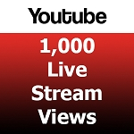 1000 Youtube Live Stream Views