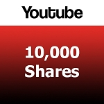 10000 Youtube Shares