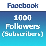 1000 Facebook Followers (Subscribers)