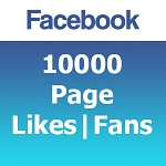10000 Facebook Likes | Fans [Black Friday]