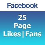 25 Facebook Likes | Fans
