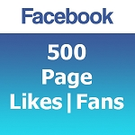 500 Facebook Likes | Fans