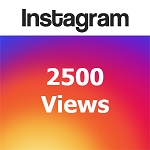 2500 Instagram Views