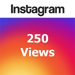 250 Instagram Views