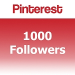 1000 Pinterest Followers