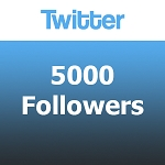 5000 Twitter Followers