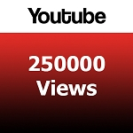 250000 YouTube Views