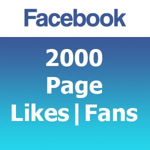 2000 Facebook Likes | Fans