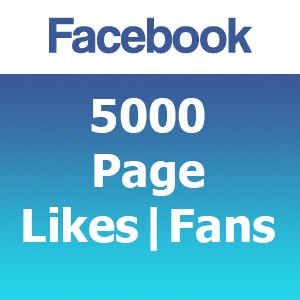 5000 Facebook Likes | Fans