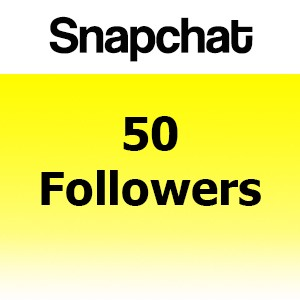 Buy 50 Snapchat Followers