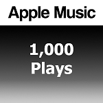 Buy 1000 Apple Music Plays