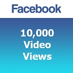 Buy 10000 Facebook Video Views
