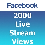 Buy 2000 Facebook Live Stream Views