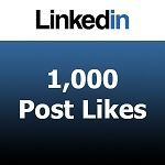 Buy 1000 Linkedin Post Likes