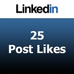 Buy 25 Linkedin Post Likes