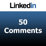 Buy 50 Linkedin Comments