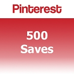 Buy 500 Pinterest Saves