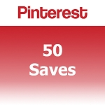 Buy 50 Pinterest Saves