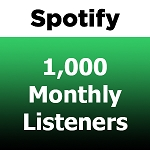 Buy 1000 Spotify Monthly Listeners