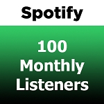 Buy 100 Spotify Monthly Listeners