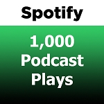 Buy 1000 Spotify Podcast Plays