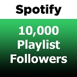 10000 Spotify Playlist Followers