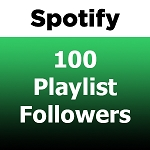 100 Spotify Playlist Followers