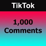1000 TikTok Comments