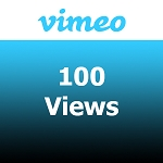 100 Vimeo Views
