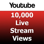 10000 Youtube Live Stream Views