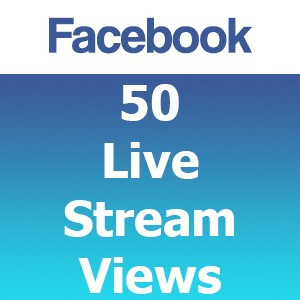 Buy 50 Facebook Live Stream Views