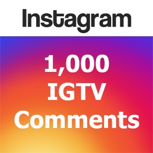 Buy 1000 IGTV Comments